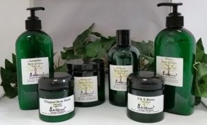 Natural Body Products Bath Salts Body Lotions