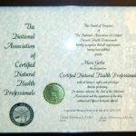 CNHP Certified Natural Health Professional