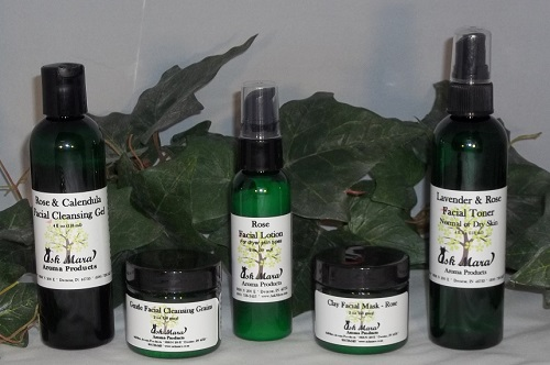 Natural facial skin care products